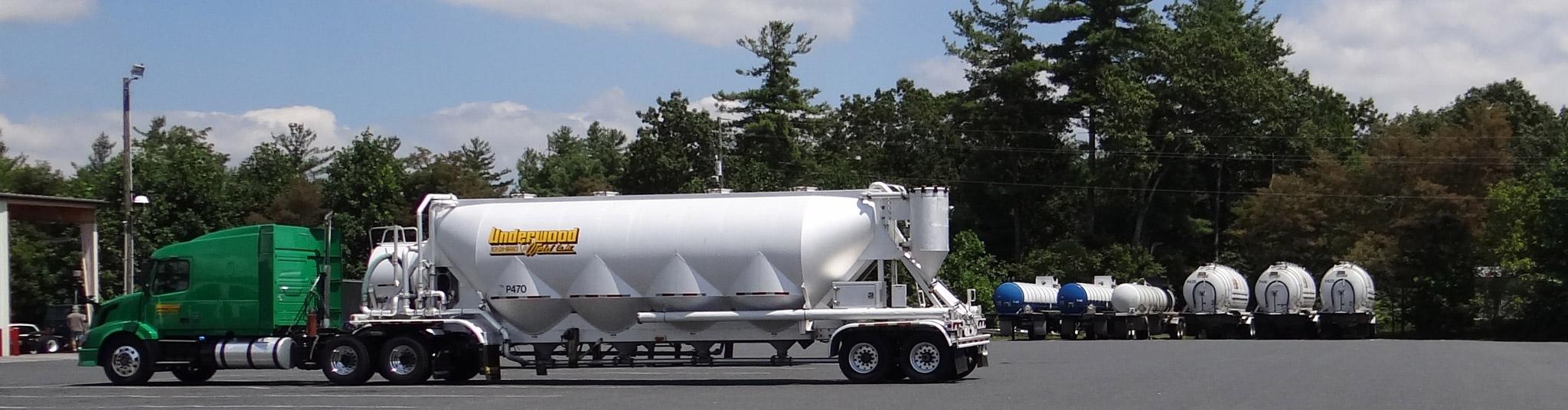 Dry Bulk Trucking Underwood Amp Weld Dry Bulk Trucking